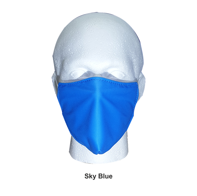 Printed Re-Useable Face Masks