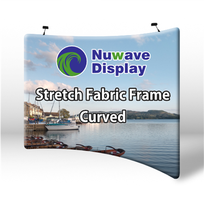Curved Stretch Fabric Displays