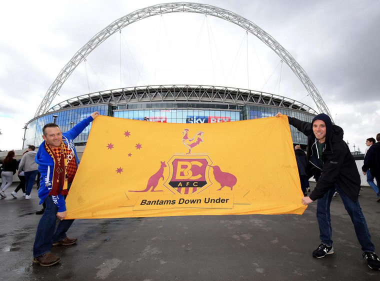 Creating a Bespoke Flag for Bantams Down Under!