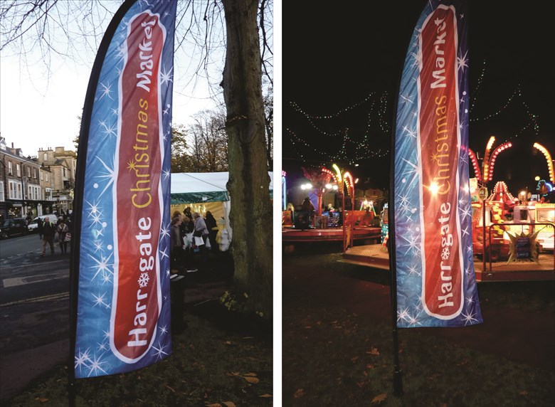 Harrogate Christmas Market Flags