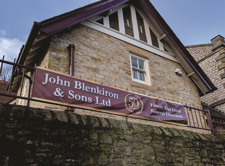 50 Year Banners for Blenkirons