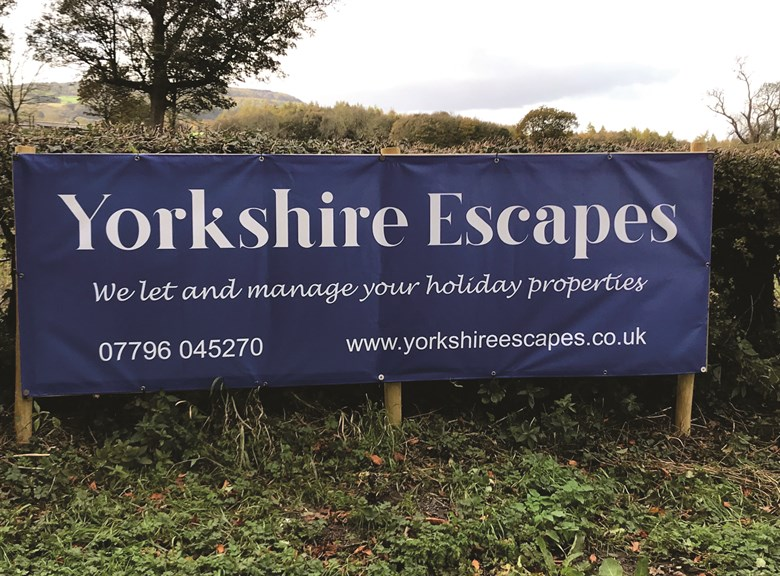 Branding for Yorkshire Escapes
