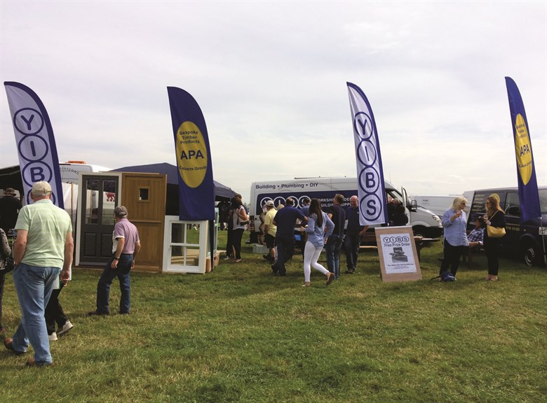 Branding at Agricultural Shows