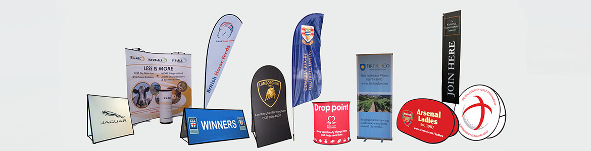 Pop Up banners and display stands